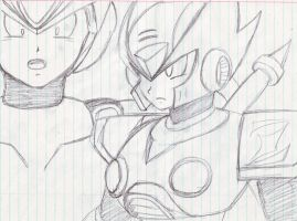 MegaMan X2 - VS Zero by HiyashiX2