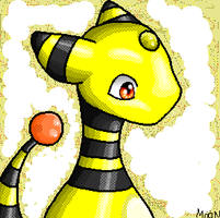 Ampharos by tangerine-dragon