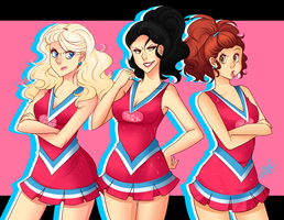 Cheersquad by Pyonkotcchi