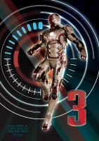 IRON MAN THREE by nuke-vizard