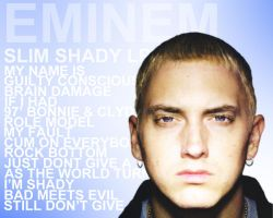 Slim Shady LP Wall by gSousa09