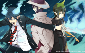 Ao No Exorcist by redricewine