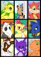 Neopets Sketchcards by Sparkle-And-Sunshine