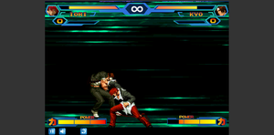 Iori Vs Kyo Bad MUGEN Screenshot by JedahDohmaPC