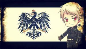 Prussia Wallaper by OhItzMimzy
