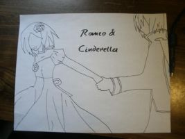 Romeo and Cinderella by IlaForce