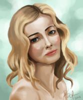 Portrait - Gillian Jacobs by Hawoot