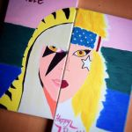 Lady Gaga Canvas by tazm3k
