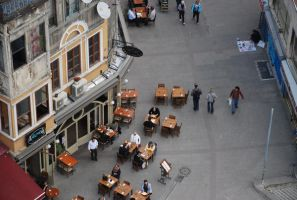 Galata Tower Street view by r3code