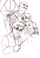 Harry Potter WIP sketch by Superbdude1