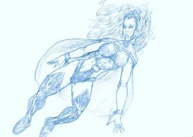BLUE SKETCH 35 Storm by Mich974