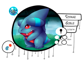 [ PKMNation ] Siymaz the Gible by GooMama