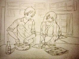 Cooking With England by Miyuu-tan
