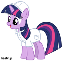 Twilight Sparkle Scientist by kastrup
