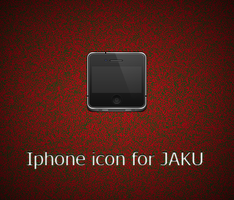 Iphone icon for JAKU by emanuele93