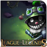 League of Legends Freaky Teemo by griddark