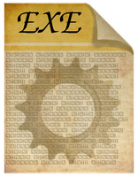 Steampunk Victorian EXE file icon by pendragon1966