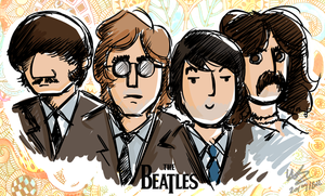 The Beatles by Mr-Xvious