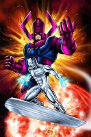 Silver Surfer by Foongatz