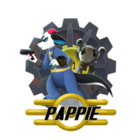 Pappie (Badge Commission) by Meeka-Moo