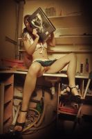 Naked book by Pixelles
