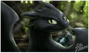 Toothless by 14-bis