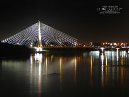 Swietokrzyski Bridge 2 by adunio-photos