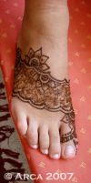 melissa foot henna by arcanoide