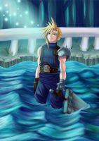 Final Fantasy VII: Cloud Strife by Kpx-Beatrix