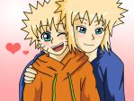 Naruto - Father and Son by dbzfannie