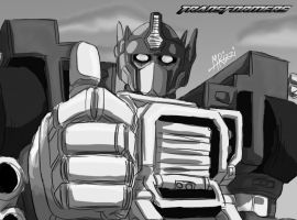 Transformers Armada Optimus Prime Concept Other by GoldRangerKicksass