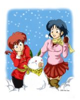 Like Winter for Ranma by balba-bunny