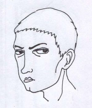 Marshall's head scetch by Jargua
