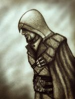 ...simple Ezio drawing... by TheHellcow