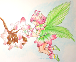 Spring Fairy by Raichana