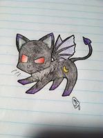 Evil Kitten by Bramblepelt34