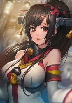 Kantai collection Yamato Fanart! by NeoArtCorE