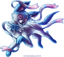 Shiny Sylveon by Deltheor