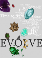 Evolution stones by Ruiichu