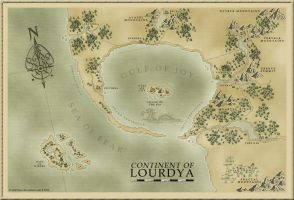 Continent of Lourdya by TzalekPulse