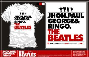 my T FEAT:' theBEATLES' by chekovskie1980