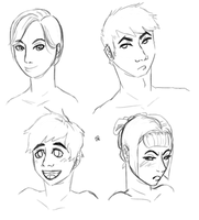 Character Practice again by Alisha-town