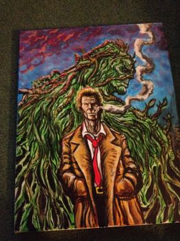 Constantine Painting by CroctopusArt