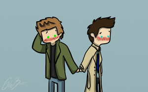 30 days otp challenge  Day 1 - Holding Hands by Castielogically