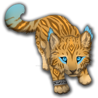 Big cat cub adoptable auction by TaraviAdopts
