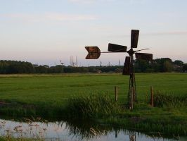 Typical Dutch landscape 1 by thomasVanDijk