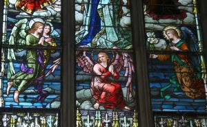 Denver Cathedral Window 22 by Falln-Stock