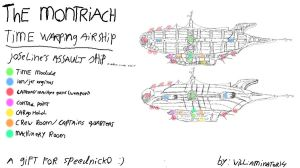 The montriach (joseline's assault ship) .:gift:. by williaminator14