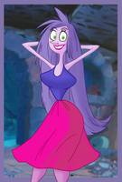 CartoonGalz Madam Mim by theEyZmaster
