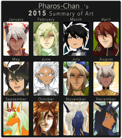 2015 SUMMARY OF ART by Pharos-Chan
